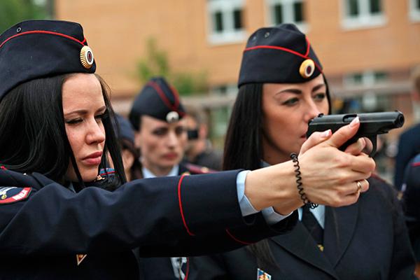 Самые красивые женщины полицейские